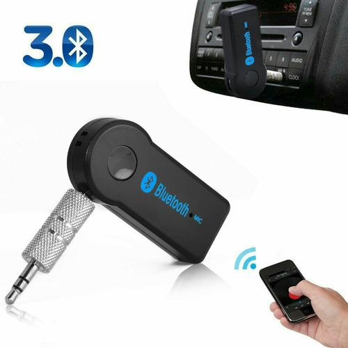 bluetooth universal auto aux mp3 equipo de sonido llamadas