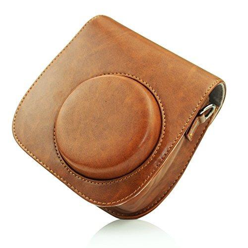 blummy pu leather instax mini 8 camera case pa