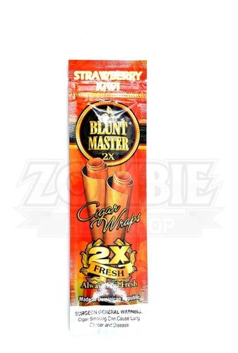 blunt master strawberry kiwi  x2 sku09001