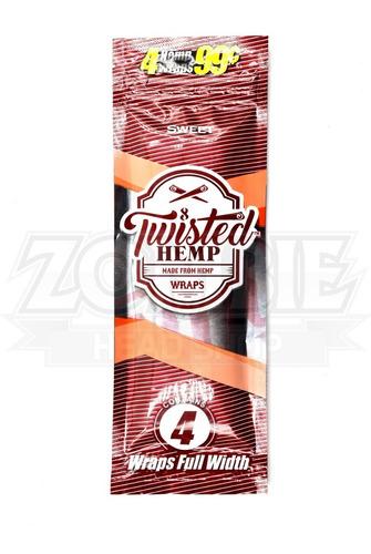 blunt twisted hemp sweet x 4 sku09028