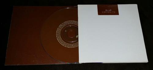 blur coffee + tv single cd 3 tracks card sleeve