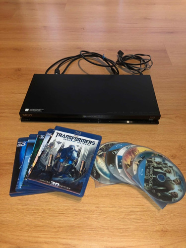 bluray 3d sony+ 12 peliculas+ cable hdmi