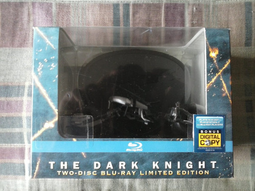 bluray - batman dark knight batpod - ed. especial completo