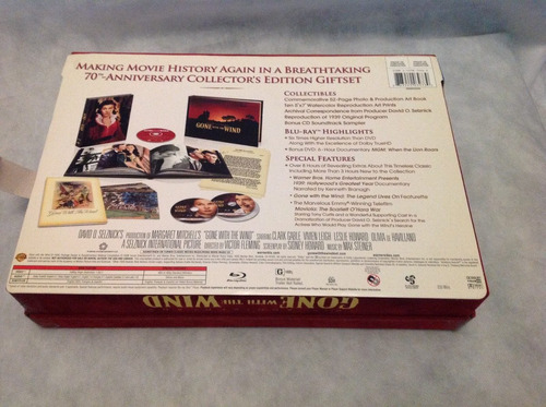 bluray box especial o vento levou - gone with the wind