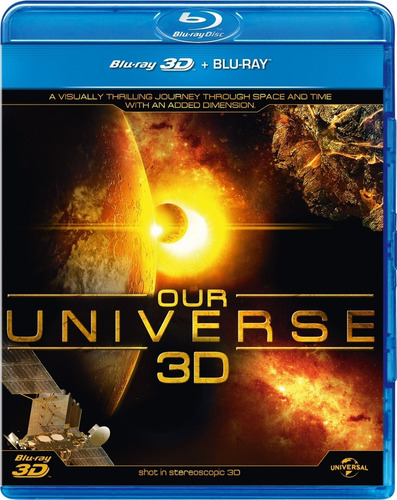 bluray box our world & beyond 2d+3d 10 discos-leg português