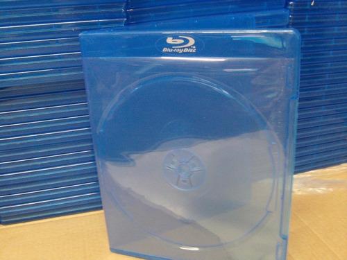 bluray caja azul  con logo