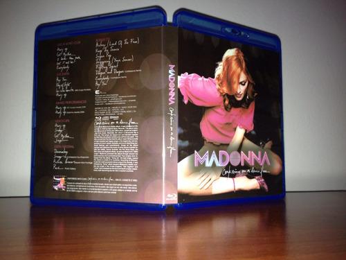 bluray + cd madonna confessions on a dancefloor (legendado)