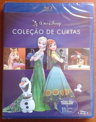 bluray coleção de curtas walt disney, lacrado, frete 8 reais