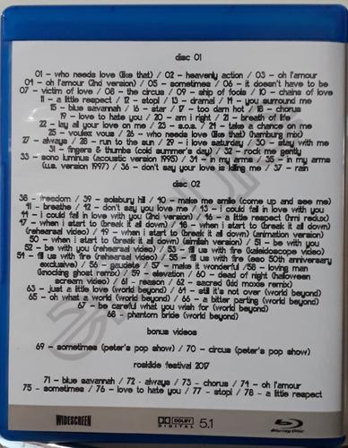 bluray duplo erasure historical collection - frete grátis