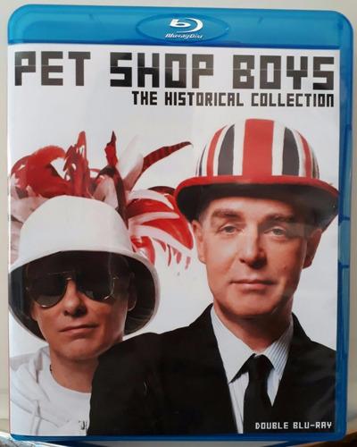 bluray duplo pet shop boys historical collection frete gráti