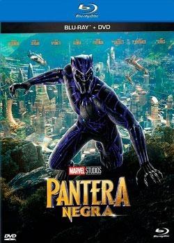 bluray + dvd  pantera negra  marvel original nuevo  2 discos