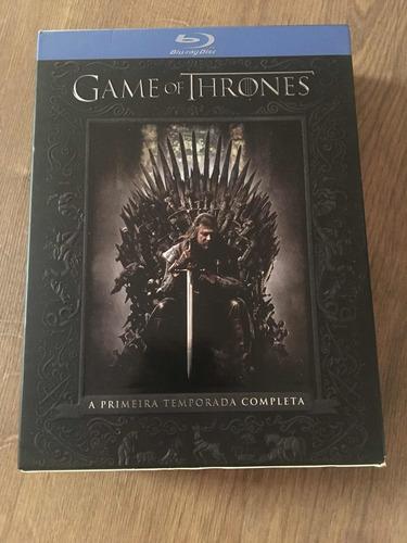 bluray game of thrones 1ª temporada completa digipack