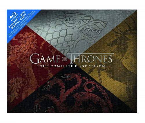 bluray game of thrones temporada 1 tronos colección nuevo