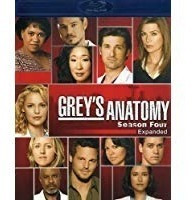 bluray grey's anatomy: season 4 envío gratis