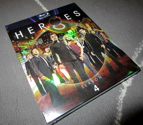 Bluray Heroes Cuarta Temporada 4 Sellado - S/ 99,00 en Mercado Libre