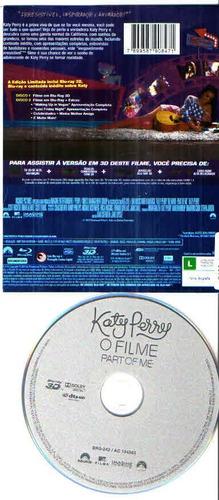 bluray katy perry- o filme- part of me 3d-original