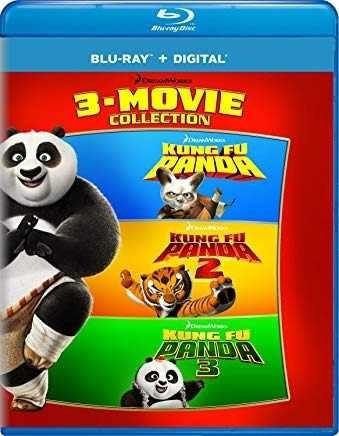 bluray kung fu panda: 3-movie collection envío gratis