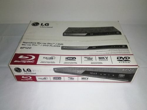bluray lg full hd, usb, hdmi, modelo bp120