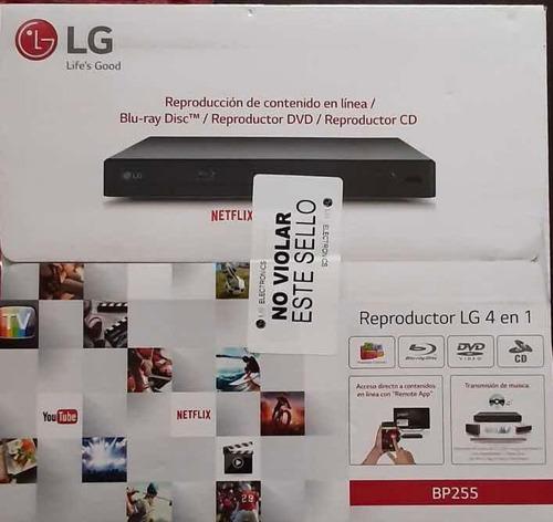 bluray lg reproductor 4 en 1 nuevo bp255