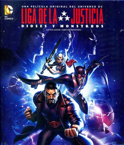 bluray liga de la justicia dioses y monstruos ( justice leag