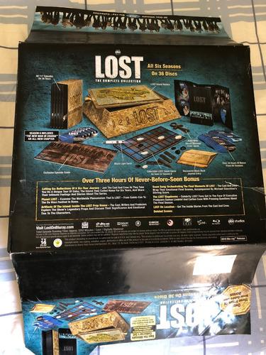 bluray lost coleção completa - box importado edição ilha