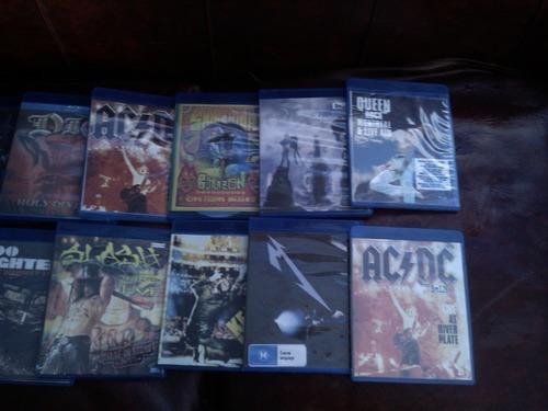 bluray lote 39  videos/conciertos rock heavy metal