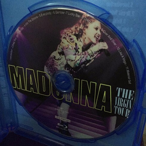 bluray madonna the virgin tour detroit (rebel heart)