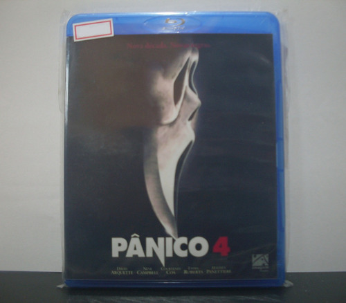 bluray pânico 4 (original)