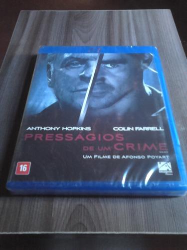 bluray presságios de um crime