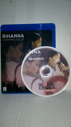 bluray rihanna ao vivo festival global citizen 2016