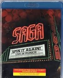 bluray saga - spin it again! live in munich  (p.entrega)