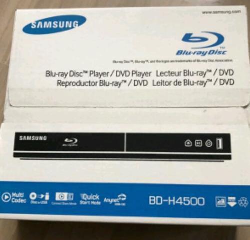 bluray samsung bd-h4500