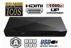 bluray sony smart full hd wifi usb hdmi cd y dvd meses s.int