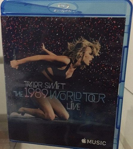 bluray taylor swift - 1989 tour + tv performances (rihanna )