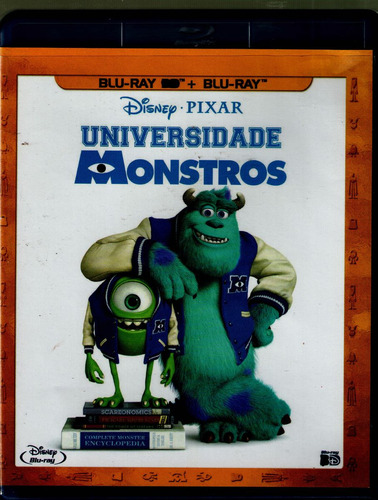 bluray universidade monstros - original -