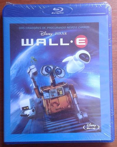 bluray wall-e - lacrado, frete: 8 reais