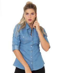008208721c64 Camisa Vaquera De Mujer Bordada - Ropa, Bolsas y Calzado de Mujer ...