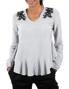 badf8f063e5f Blusa A Raya Cuello-v - Color Thread