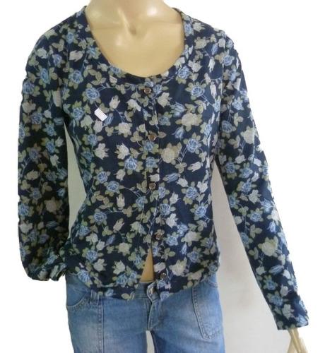 blusa aberta na frente estilo casaqueto de cachimir