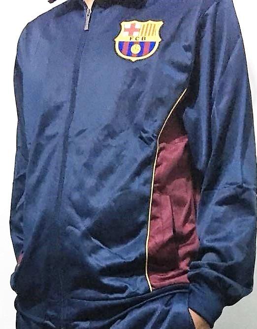 Blusa Agasalho Barcelona Original A Pronta Entrega! - R  124 7c357ebabe300