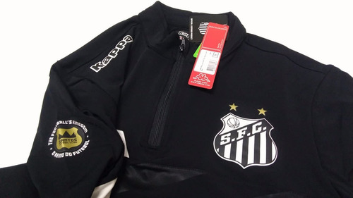 66bdd52c65 Blusa Agasalho Santos Treino Oficial Kappa 2016 2017 (camisa - R ...
