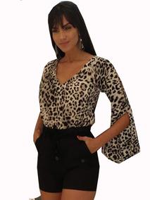 7fb320958 Regata Animal Print Sem Mangas - Camisetas e Blusas para Feminino no  Mercado Livre Brasil