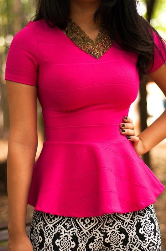 b8d5889aef blusa bandagem peplum camisa feminina blusinha modela corpo. Carregando zoom .