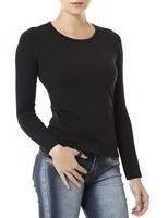 0ee48f6f4 Blusa Basica Feminina - Blusas Femininas com o Melhores Preços no Mercado  Livre Brasil