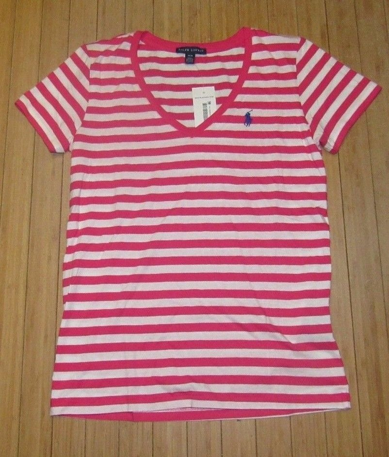 blusa básica polo ralph lauren tamanho m feminina algodão. Carregando zoom. 5a0af7bca7c