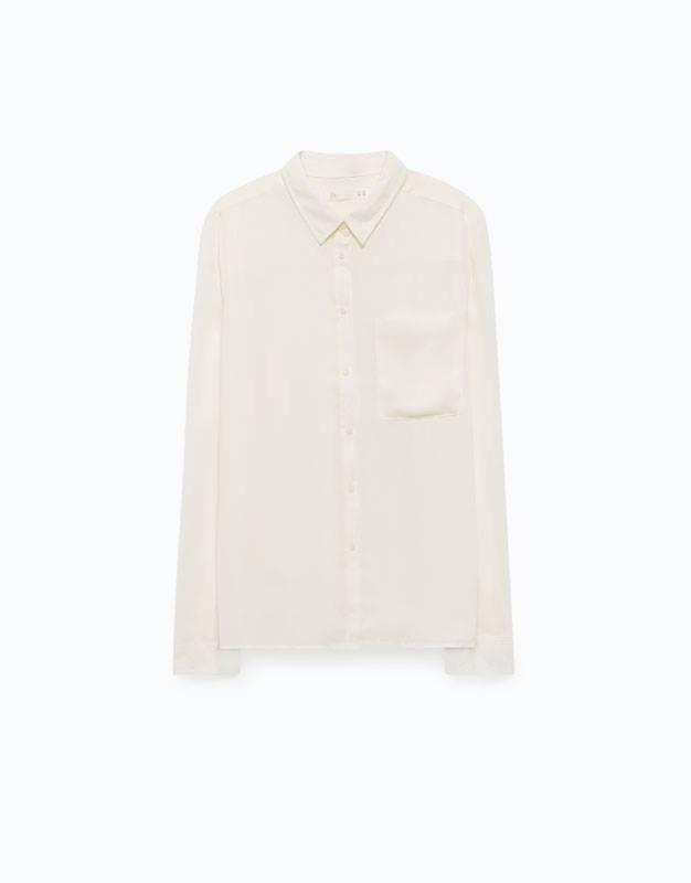 gran descuento de 2019 estilo clásico colores delicados Blusa Blanca Clásica