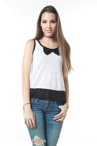 blusa blanca larga lazo negro saints clothes