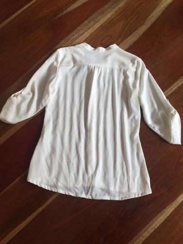 blusa blanca studio f