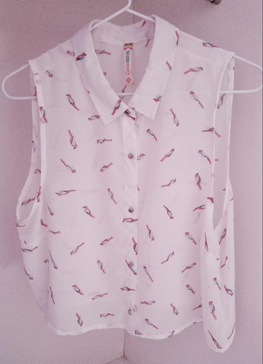 0796419ce blusa blanca y estampada de la marca sybilla. Cargando zoom.