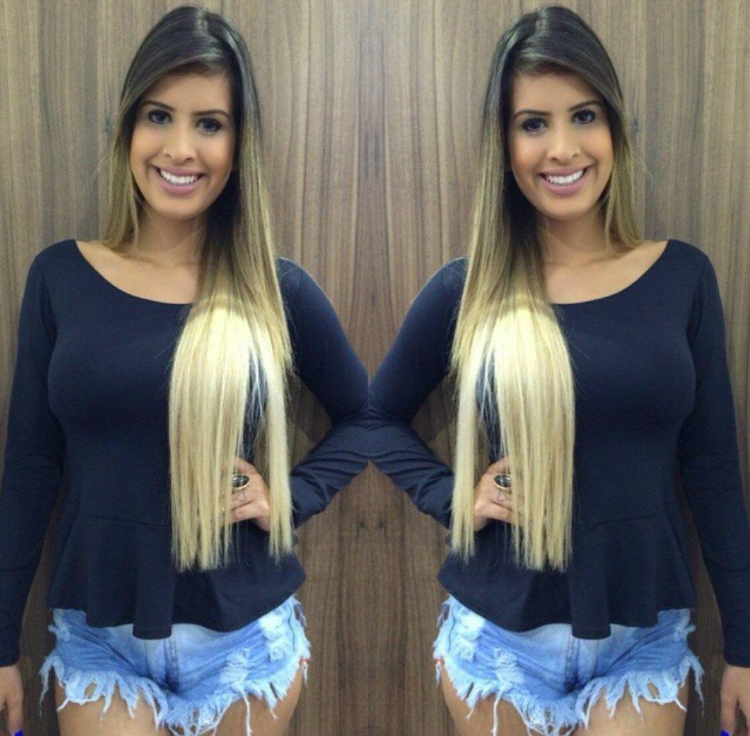 6639ca7ff7 Blusa Peplum Promoção Blusas E Roupas Femininas Lindas Moda - R  35 ...